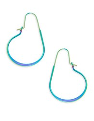 Trina Turk Large Drop Hoop Earrings 1.5 In.