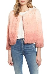 Mother The Boxy Ombre Faux Fur Jacket Rocket In My Pocket