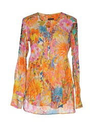 Robert Friedman Shirts Blouses Women Orange