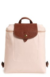 Longchamp 'Le Pliage' Backpack Beige Ivory