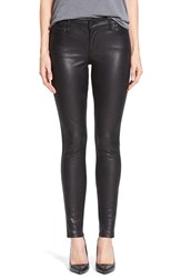 Women's Cj By Cookie Johnson 'Wisdom' Reptile Texture Skinny Ponte Pants Black Jm
