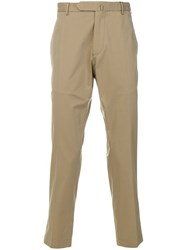 Dell'oglio Cropped Chinos Nude And Neutrals