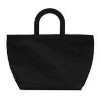 Building Block Black Mini Crinkle Stencil Tote