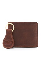 J.W. Hulme Co. Classic Bifold Wallet And Key Fob Gift Set American Heritage