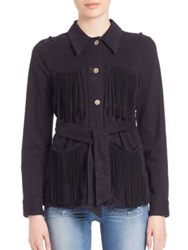 Mcguire Fringe Pocket Shirt Witchy Woman