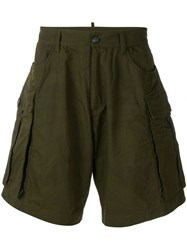 Dsquared2 Cargo Shorts Green
