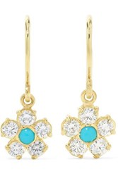 Jennifer Meyer Flower 18 Karat Gold