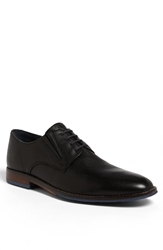 Hush Puppies 'Style' Plain Toe Derby Black Leather