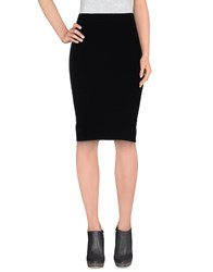 P.A.R.O.S.H. Skirts Knee Length Skirts Women Black