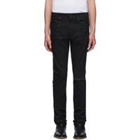 Saint Laurent Black Skinny Low Waist Jeans