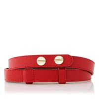 Lk Bennett L.K. Zahara Waist Belt With Red