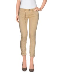Jfour Trousers 3 4 Length Trousers Women Beige