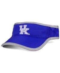Top Of The World Kentucky Wildcats Baked Visor Royalblue