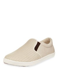 Tommy Bahama Kai Perforated Slip On Sneaker Brown