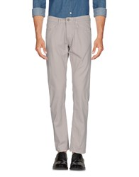 M.Grifoni Denim Trousers Casual Trousers Light Grey