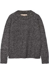 Marni Wool Blend Sweater Charcoal
