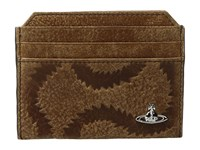Vivienne Westwood Credit Card Holder Brown Credit Card Wallet