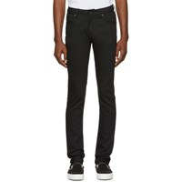 Naked And Famous Denim Black Power Stretch Jeans