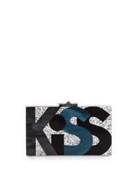 Alicia Small Lucite Clutch Bag Kiss Me Rafe