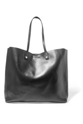 Sandro Adela Large Leather Tote Black