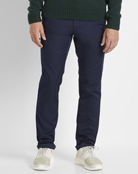 Carhartt Navy Wash Sid Lamar Stretch Chinos Blue