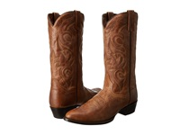 Dan Post Milwaukee R Toe Sand Mignon Cowboy Boots Brown