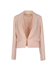Bonsui Suits And Jackets Blazers Women Pink
