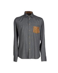 Alviero Martini 1A Classe Shirts Shirts Men Grey