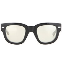 Acne Studios Frame Metal Sunglasses Black