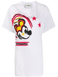 Iceberg Mickey Mouse Long Fit T Shirt 60