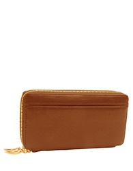 Tusk Donnington Double Zip Clutch Wallet Wood