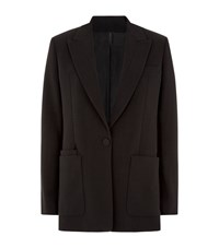 Helmut Lang Straight Fit Blazer Female Black
