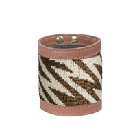 Fiona Paxton Siri Bronze Colour Wide Cuff Brown