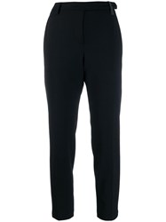 Brunello Cucinelli Cropped Suit Trousers Black