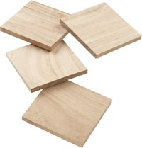 Cb2 Set Of 4 Chop Coasters