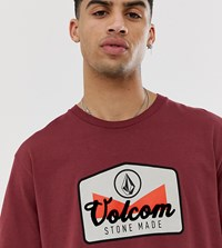 Volcom T Shirt In Red