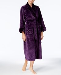 Charter Club Petite Long Contrast Robe Created For Macy's Rich Concord