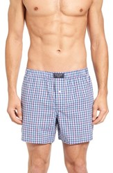 Polo Ralph Lauren Men's Cotton Boxers Coral Plaid