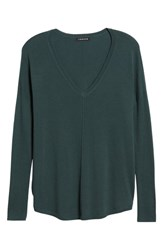 Trouve 'Everyday' V Neck Sweater Green Gables