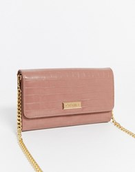 Carvela Favour Chain Purse In Pink