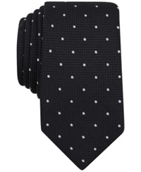 Bar Iii Carnaby Collection Morgan Dot Skinny Tie Only At Macy's Black