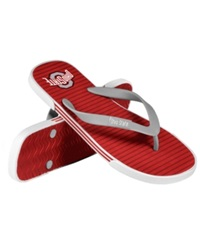 Forever Collectibles Ohio State Buckeyes Thong Sandals