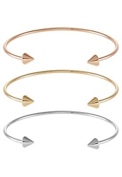 Only Onljosefine 3 Pack Bracelet Goldcoloured Lilac