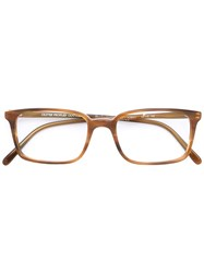 Oliver Peoples Tosello Glasses Brown