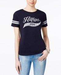 Tommy Hilfiger Baseball T Shirt Only At Macy's Midnight