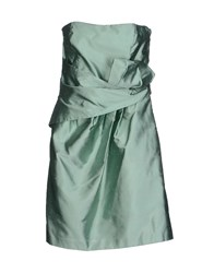 Gai Mattiolo Dresses Short Dresses Women Light Green