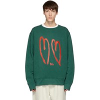 Rochambeau Green Core Sweatshirt