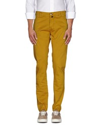Pt05 Trousers Casual Trousers Men Ocher