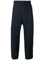 Casey Casey Loose Fit Trousers Blue