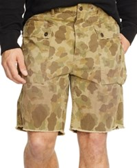 Polo Ralph Lauren Relaxed Fit Camouflage Print Cargo Shorts